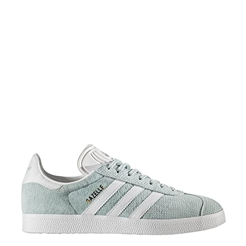 check out 381d6 7ea1e adidas Originals Womens Gazelle W Sneaker, Tactile GreenWhiteGold  Metallic, 7.5 M US Amazon.co.uk Shoes  Bags