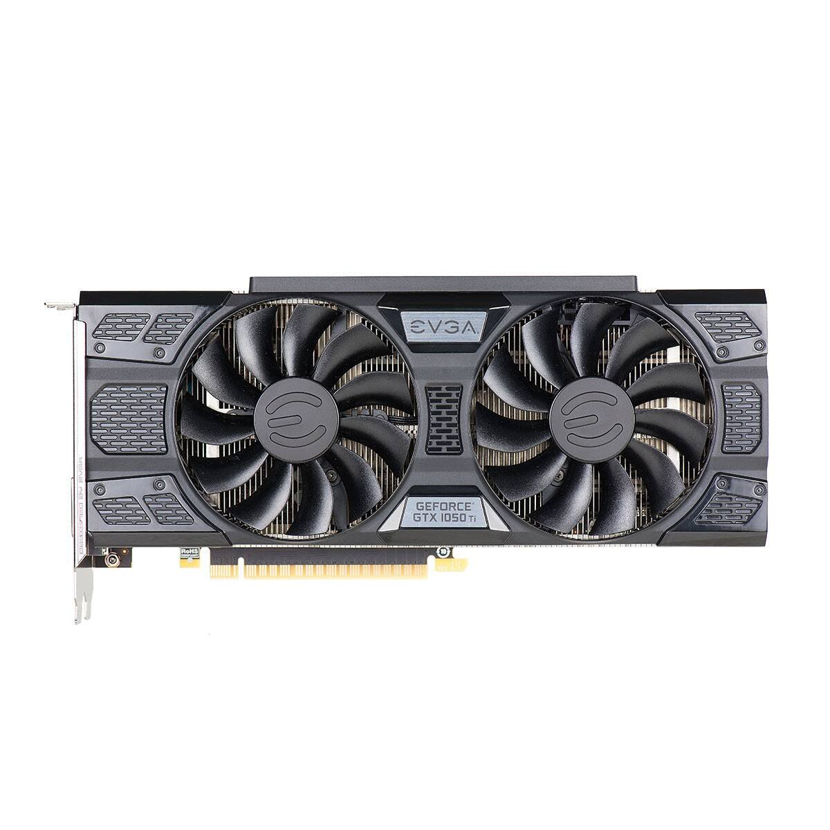 EVGA GeForce GTX 1050 Ti FTW ACX 3.0, 4 GB GDDR5, DX12 OSD (PXOC) Tarjeta Grafica 04G-P4-6258-KR