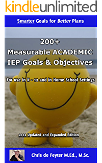 Amazon 800 measurable iep goals and objectives ebook chris de 200 measurable academic iep goals objectives special education smart goal series book 1 fandeluxe Image collections