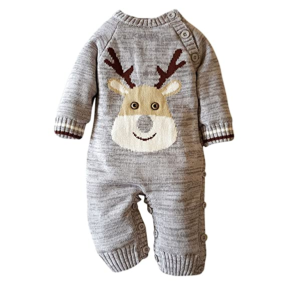Amazon.com: Scaling♥Baby Romper Jumpsuit♥Baby Warm Rompers Newborn ...