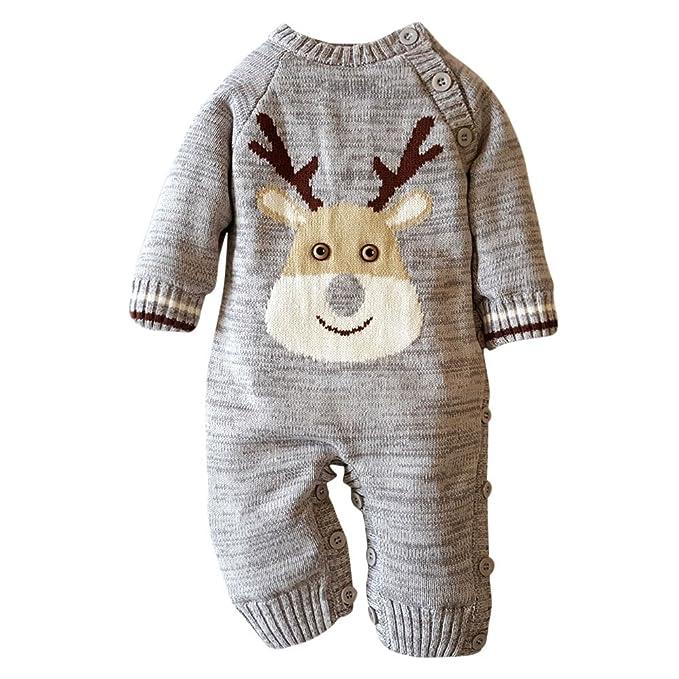 Amazon.com: Scaling♥Baby Romper Jumpsuit♥Baby Warm Rompers Newborn ...