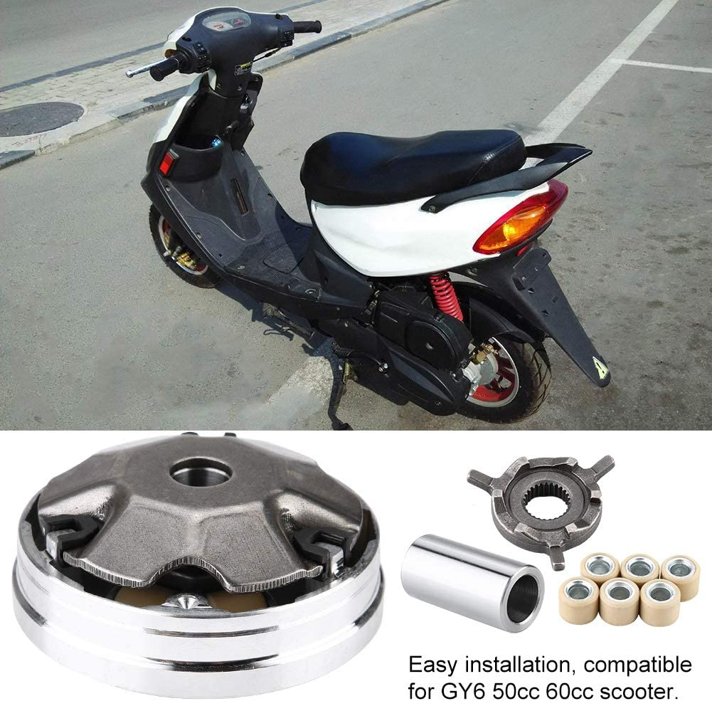 Ensamblaje de variador reemplazo de variador delantero de ciclomotor de scooter para GY6 50cc 60cc para PGO ATV XL Rider 50