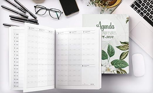 Agenda Para Profesores 2019 - 2020: Agendas Escolares para Profesores - Cuaderno del Profesor y Agenda 2019 - 2020   Práctico Organizador para ...