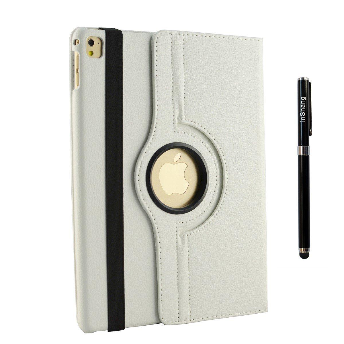 360 Grad rotierende Schutzh/ülle mit Standfunktion inShang ipad H/ülle f/ür 10.5 inch iPad air 3 ipad 2019 ipad Pro 2017 PU Leder,ipad Cover mit Auto Einschlaf//Aufwach Funktion Freier Stift