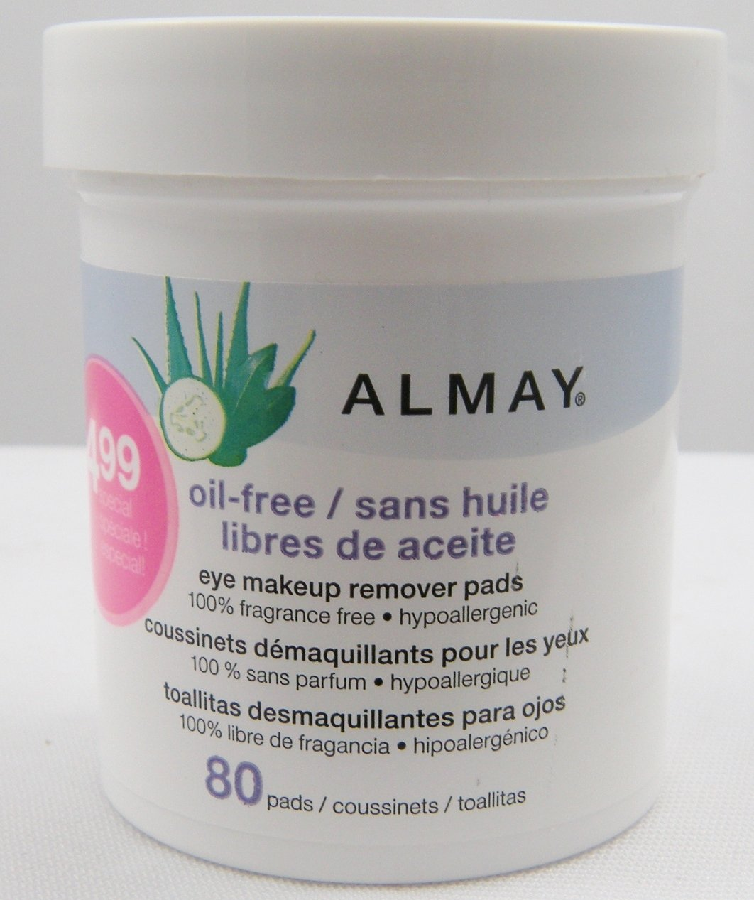 Amazon Almay Oil Free Eye Makeup Remover Pads Beauty