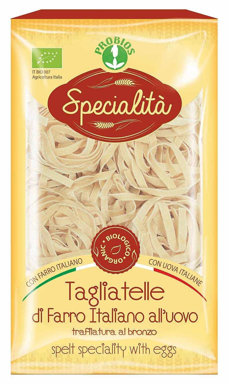 Probios Fideos Tagliatelle de Espelta con Huevo - Paquete de ...