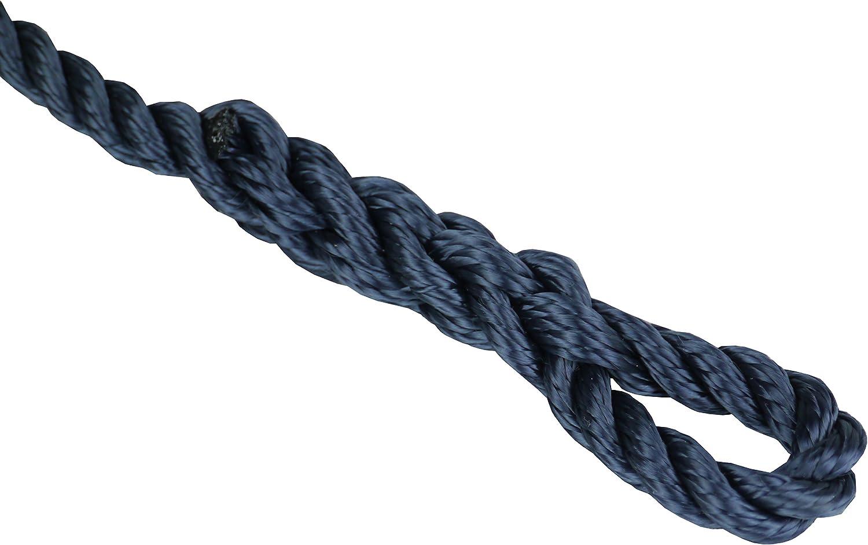 Blau Fenderleine für Bootsfender 6 Stk 1,5m Länge 6mm Tau Durchmesser