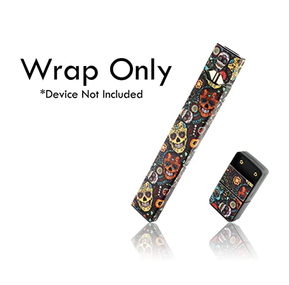 Custom Skin Decal For Pax Juul Decal Only Device Is Not Included Vinyl Wrap Protective Sticker By Vcg Customs Sugar Skulls