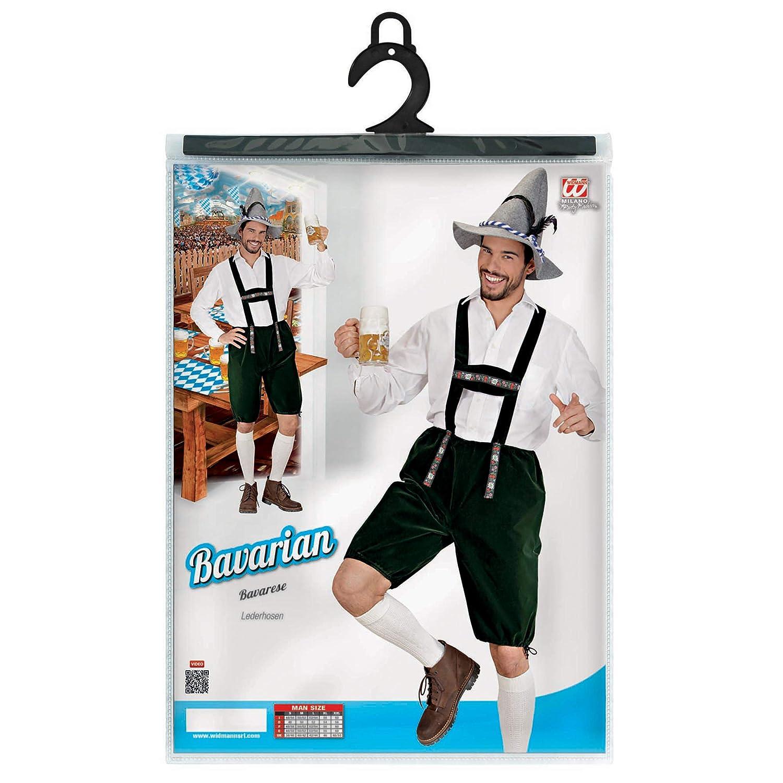 WIDMANN in Taglia S Lederhosen Costume da Bavarese//Altoatesino