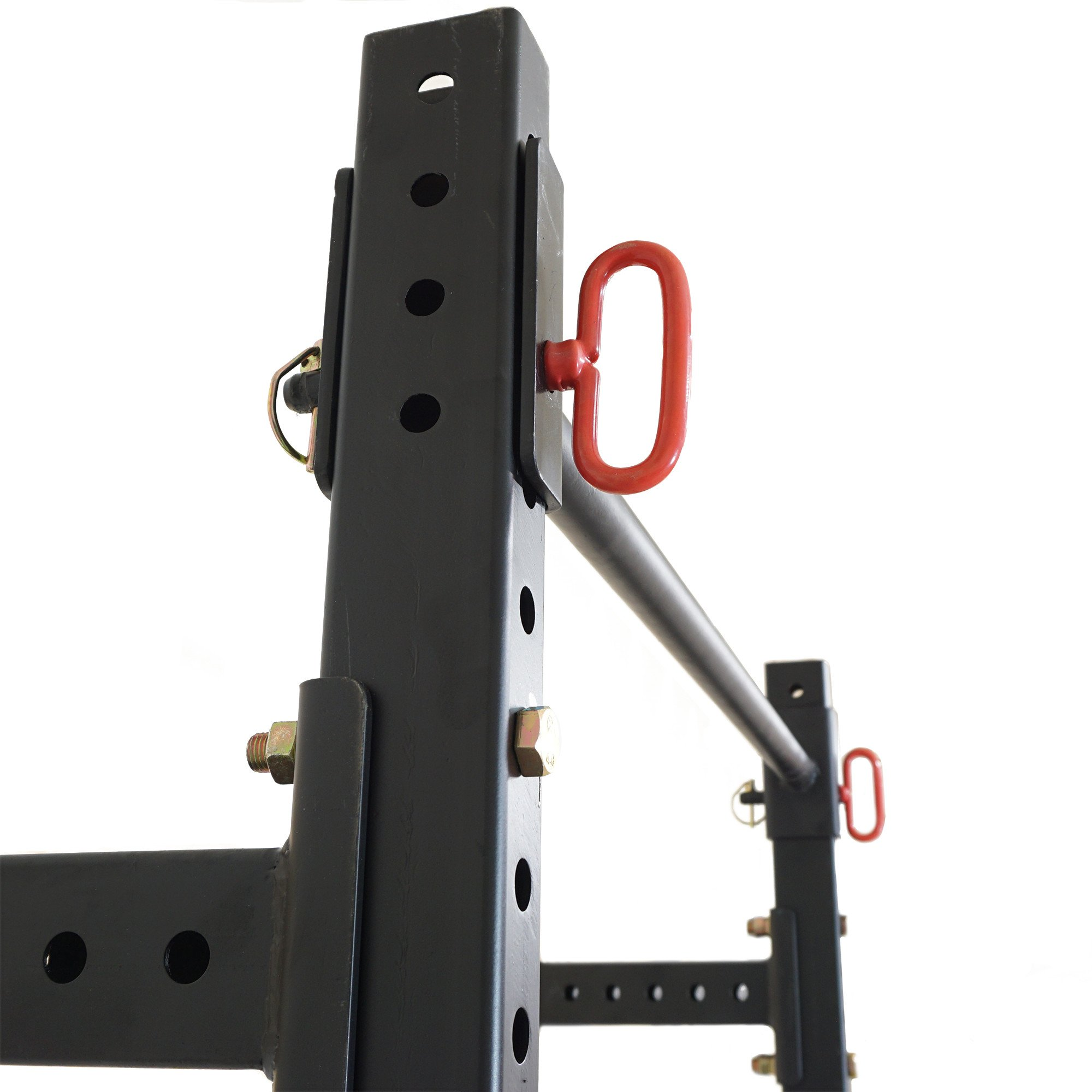 Titan Fitness T-3 Series Fold Back Power Rack 41'' Deep Wall Mounted Laser Cut by Titan Fitness (Image #5)
