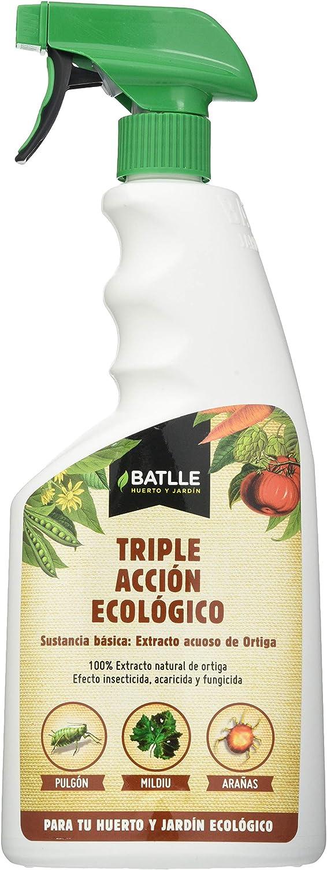 Batlle 730061UNID, Espray triple acción ecológico sustancias básicas, 400ml