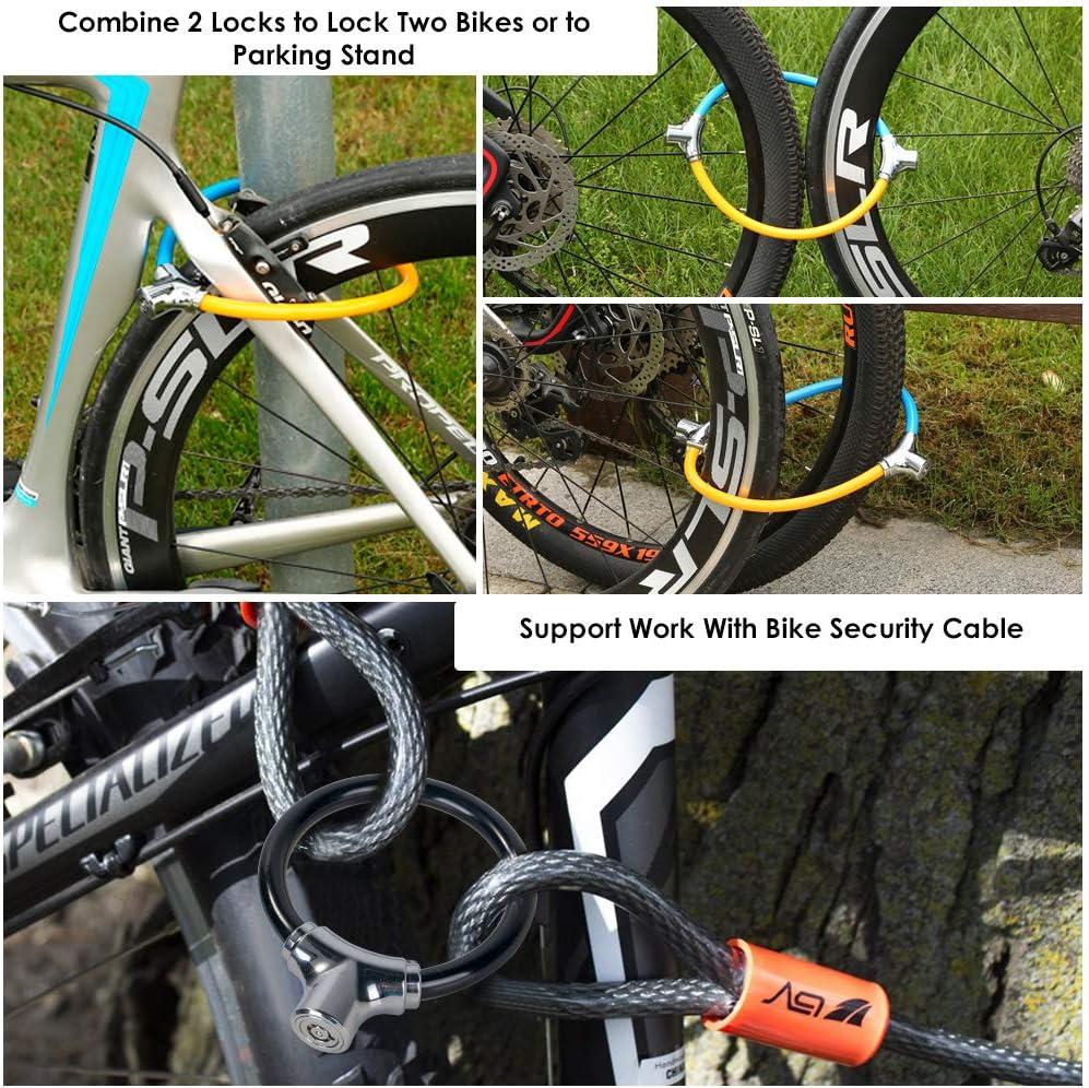 Wokin 12mm x 800 mm Cable Lock High Quality Steel Bicycle Bike