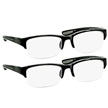 fe0be1c8300 Black Computer Reading Glasses 2.25   Protect Your Eyes Against Eye Strain