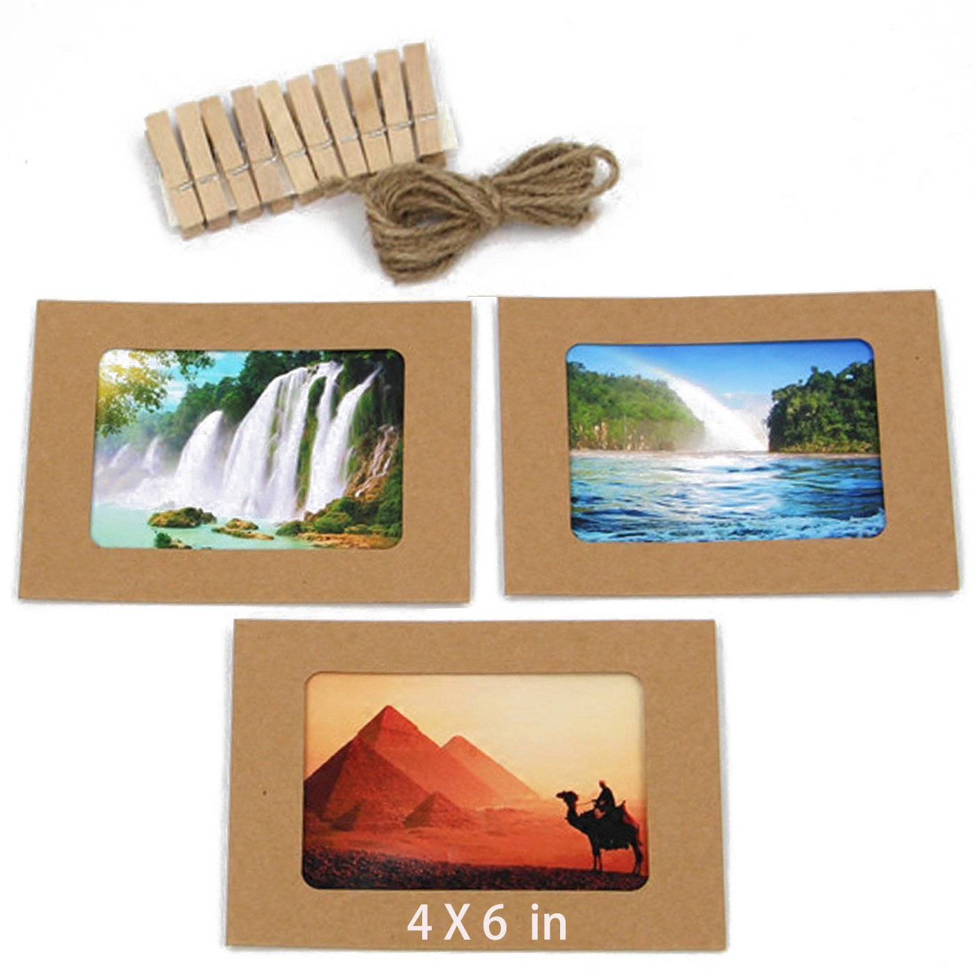 Großartig Papier Fotorahmen 4x6 Bilder - Benutzerdefinierte ...
