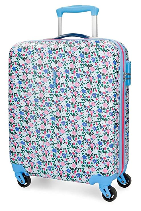 Roll Road Pretty Blue Equipaje de Mano, 55 cm, 36 litros