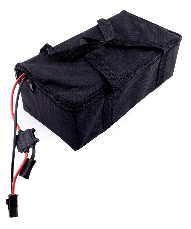 YAOBLUESEA Caricabatteria Moto 42V 2A Caricabatterie per Bicicletta Elettrica 36V Batteria