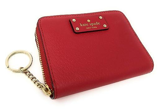 a758cc3213b3 Kate Spade Grove Street Dani Leather Zip Around Wallet Key Chain ...