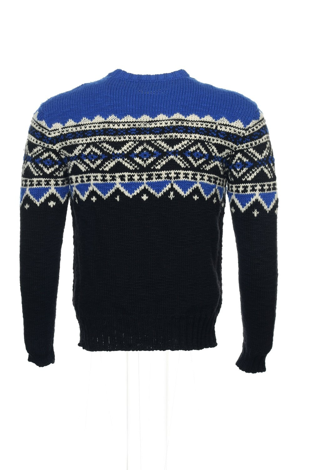 Polo Ralph Lauren Men's Nordic-Print Sweater Small Blue/Black/White by RALPH LAUREN (Image #3)