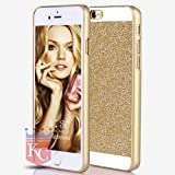 KC iPhone 4 / iPhone 4s - Shiny Crystal Bling Glitter Thin Hard Back Case - GOLD