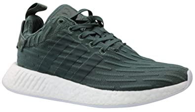 797e875d04aa3 Image Unavailable. Image not available for. Colour  Adidas NMD R2 W Mens  Green White ba7261 Green Size  41 1 3