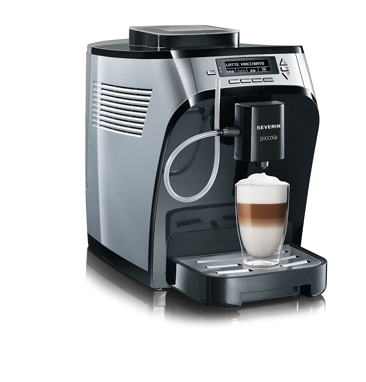 Severin KV 8061 Cafetera super automática, 1600 W, 1.35 litros ...