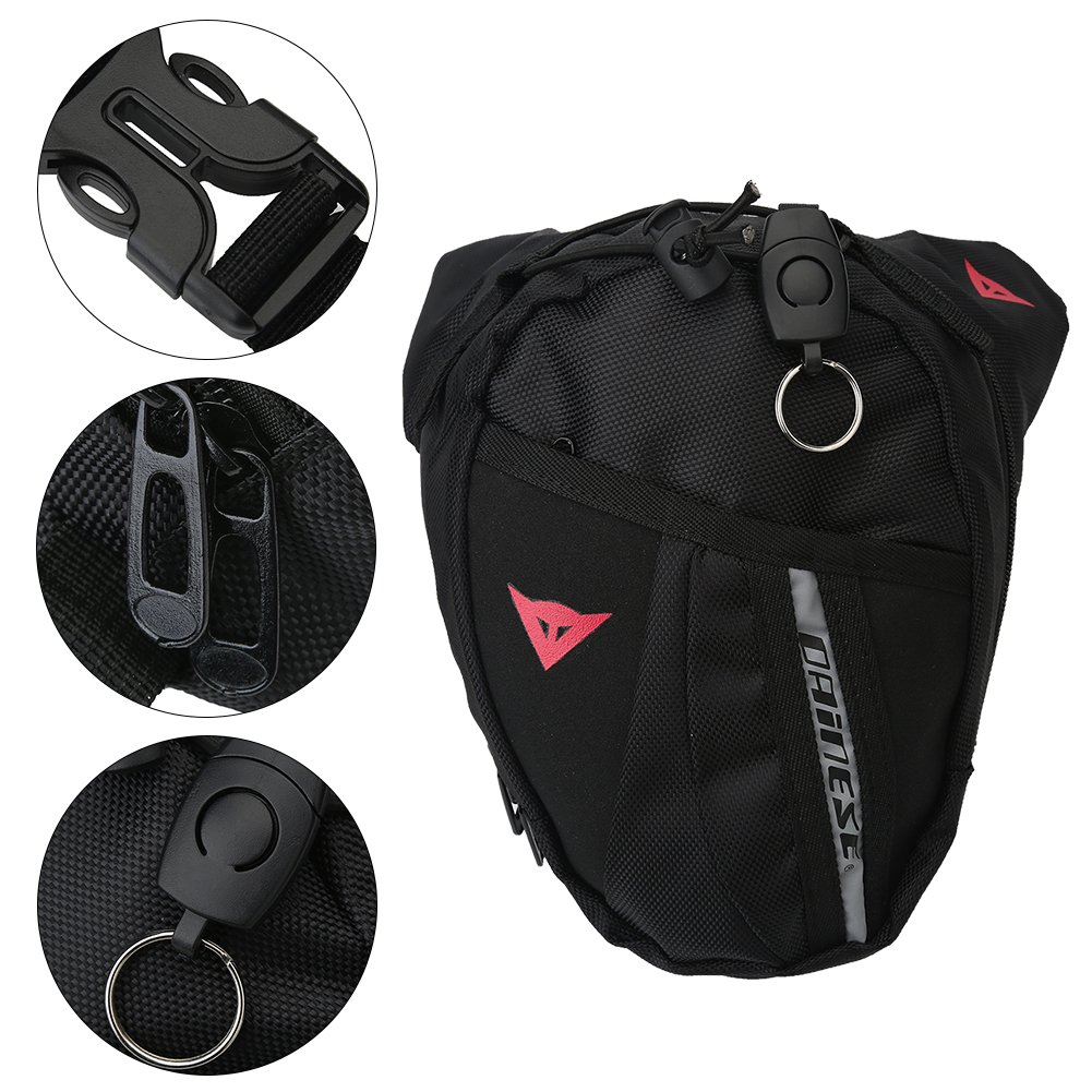Dilwe Belt Waist Pack Sports Adjustable Cycling Leg Bag for Outdoors Workout Traveling Casual Running Hiking Cycling