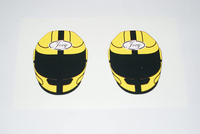 Rapro Graphics Joey Dunlop Helmet Sticker