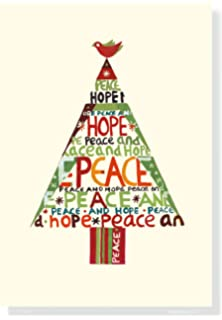 Amazon american greetings 5772316 peace on earth christmas peace hope tree small boxed holiday cards christmas cards holiday cards greeting cards m4hsunfo