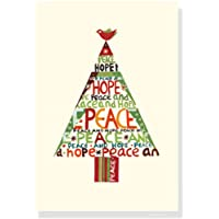 Peace Hope Tree Boxed Christmas Cards (Christmas Cards, Holiday Cards, Greeting Cards)