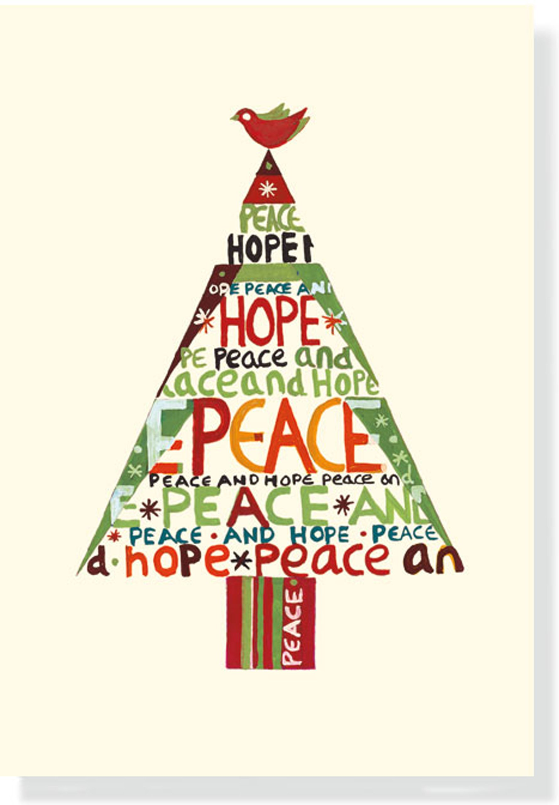 peace hope tree small boxed holiday cards christmas cards holiday