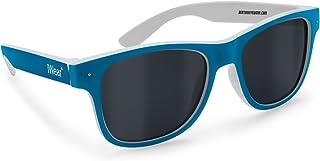 Occhiali Bambino/a Polarizzati Antiriflesso 100% Protezione UV FT47 JR1 (nero gomma soft touch / bianco opaco) Bertoni iWear