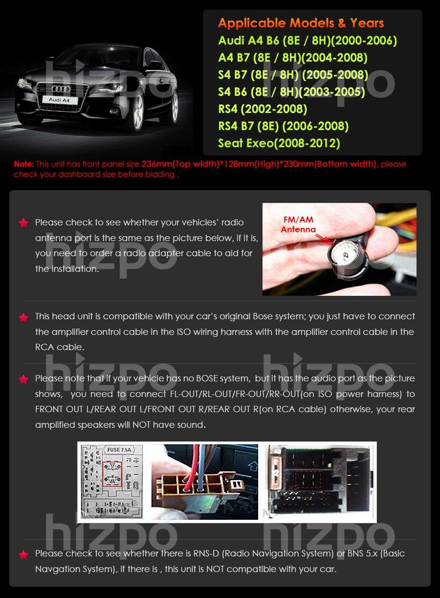 Navihouse Fr Audi A4 20022008 178 Cm Elektronik 2004 Wiring Harness