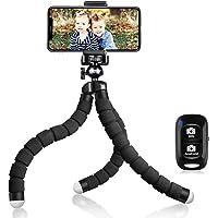 UBeesize Tripod S, Premium Flexible Phone Tripod with Wireless Remote, Mini Tripod Stand for Cameras/GoPros/Mobile…