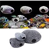 Tutoy Acuario cíclidos Piedras cerámica Roca Cueva Ornamento ...