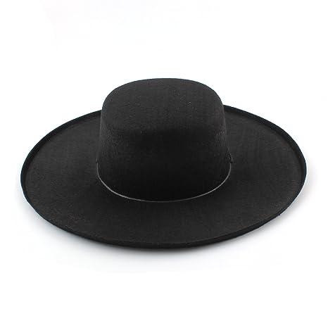 classique chic construction rationnelle rencontrer Chapeau de Bandit Masqué Zorro Accessoire pour Cosplay ...