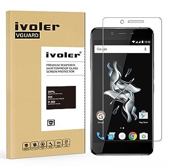 iVoler Protector de Pantalla para Oneplus X, Cristal Vidrio Templado Premium: Amazon.es: Electrónica