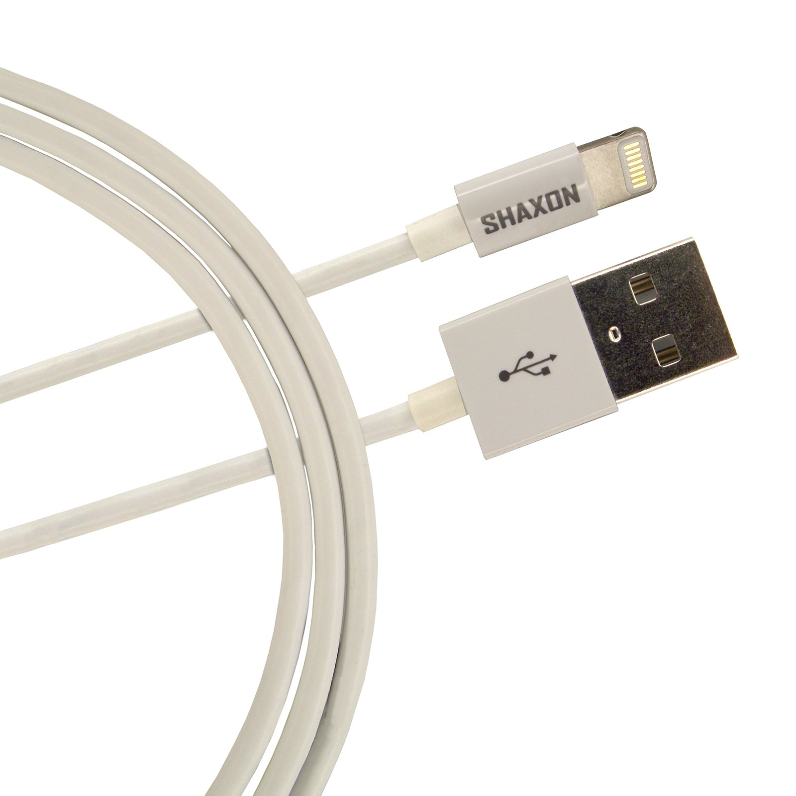 Cable Shaxon Data Cable for iPhone, iPod, iPad - Retail P …