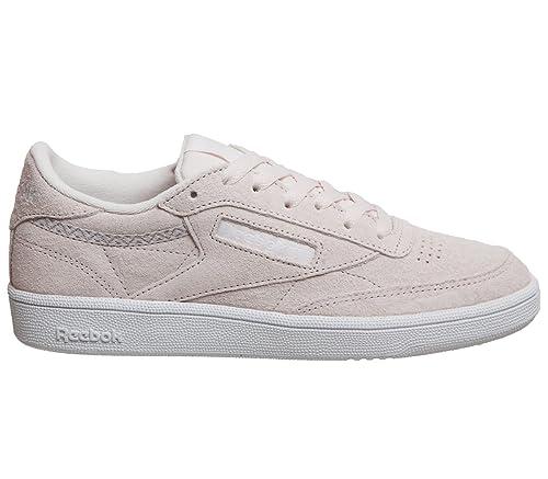 792564593a6346 Reebok Women s Club C 85 Trim NBK Tennis Shoes  Amazon.co.uk  Shoes ...