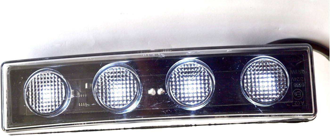 Beschichtungen von Griff zweifarbig Domino ATV blau//wei/ß