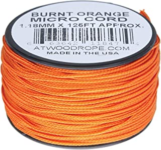 product image for Atwood Rope MFG Micro Cord 125ft Burnt Orange
