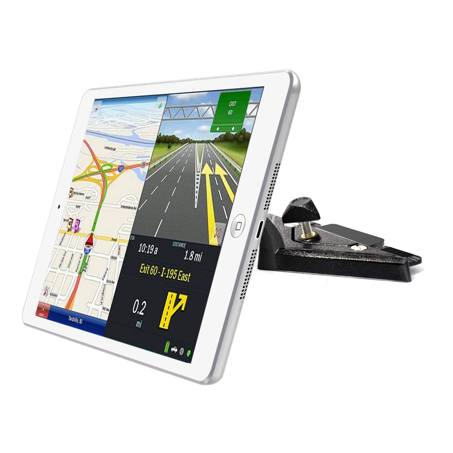 """INNOMAX iPad Car CD Slot Mount,Tablet Holder for Car,CD Player Tablet Mount, Universal Magnetic CD Player Tablet Mount for Tablets, iPads, Samsung Tablets from 7"""" to 9"""", Cell Phone, GPS etc"""