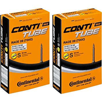 "2x Continental Fahrrad Schlauch MTB 29/"" 28//29x1.75//2.50 AV40 Autoventil"