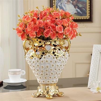 Amazon Zenggp European Ceramic Large Vase Creative Luxury