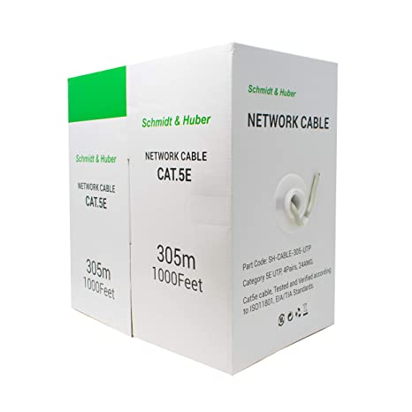 I-CHOOSE LIMITED Cable de Red Ethernet Cat5E 305m Carrete: Amazon.es: Electrónica