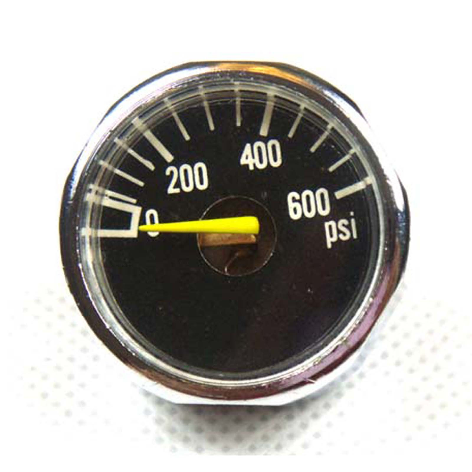 New 2X 600 PSI Paintball Micro Gauge by GFSP Outdoor Sports