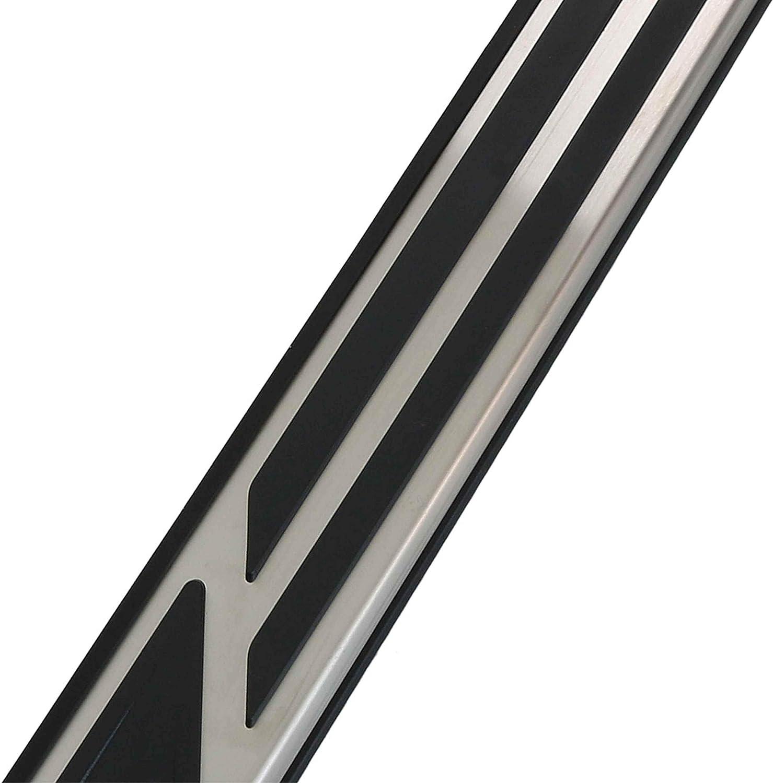 Set Aluminium Trittbretter Schweller f/ür Model Karoq NU7 Bj 2017-