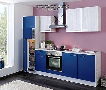 Küchenzeile Einbauküche Komplettküche mit E-Geräten Küchenblock ... | {Küchenblock mit geräten 41}
