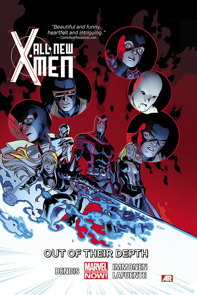 ALL NEW X-MEN VOLUME 3 OUT OF THEIR DEPTH GRAPHIC NOVEL Collects #11-15