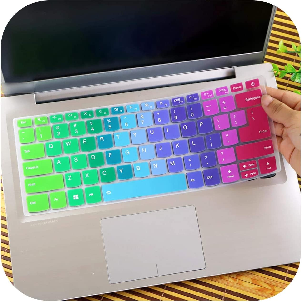 S540 S540 14Iwl Clear 14 Laptop Keyboard Cover Skin Protector for Lenovo Ideapad S340 14Iwl S340 14Iwl 14 Inch S 340 S340 14