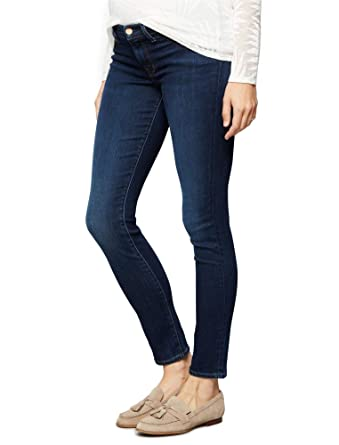 548bb1de0f378 Jbrand Side Panel Skinny Leg Maternity Jeans at Amazon Women's Clothing  store: